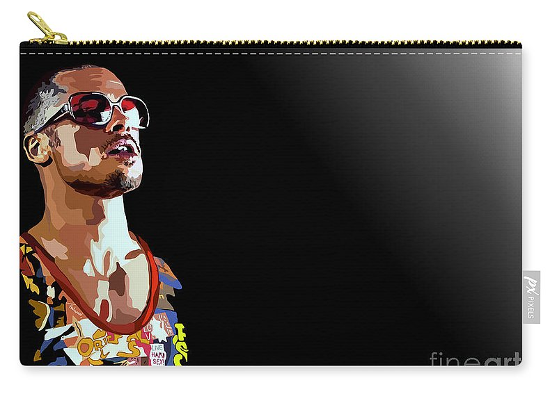 Tamify Carry-all Pouch featuring the painting 033. We by Tam Hazlewood