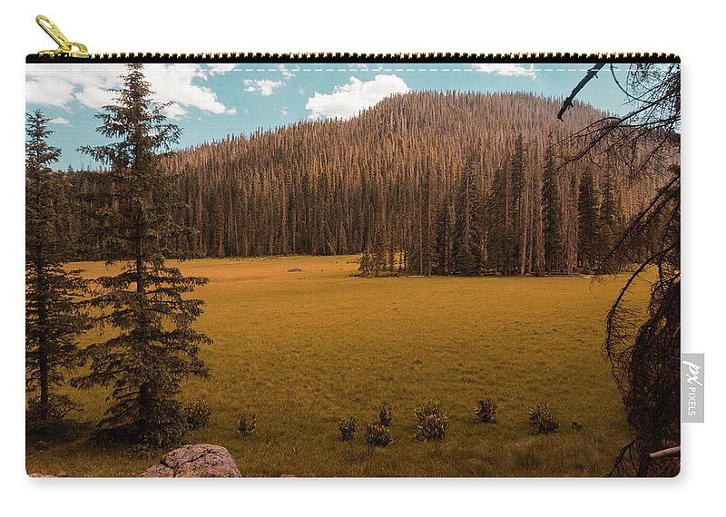 Landscape Carry-all Pouch featuring the photograph 06/30/2017 by Joshua Hernandez
