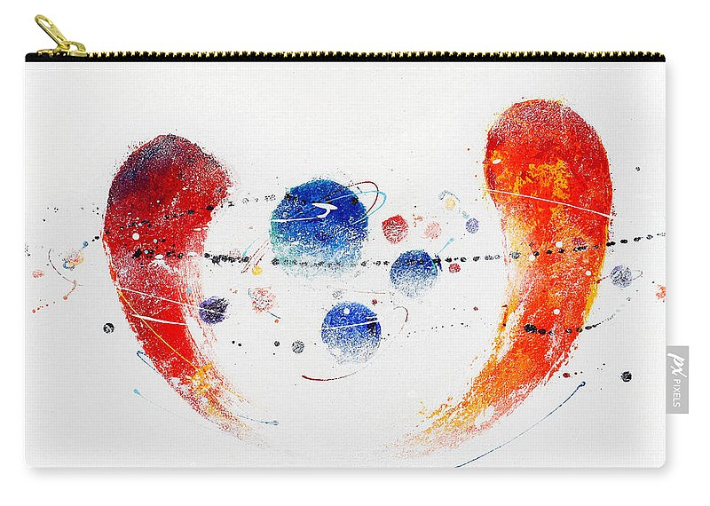 Painting Carry-all Pouch featuring the painting 090825 by Toshio Sugawara