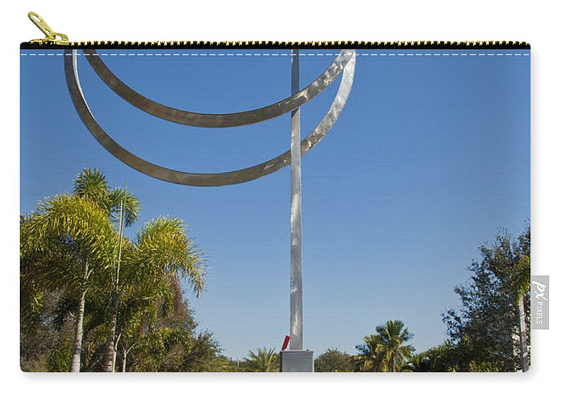 Annualar Carry-all Pouch featuring the photograph The Vero Beach Museum Of Art In East Central Florida by Allan Hughes