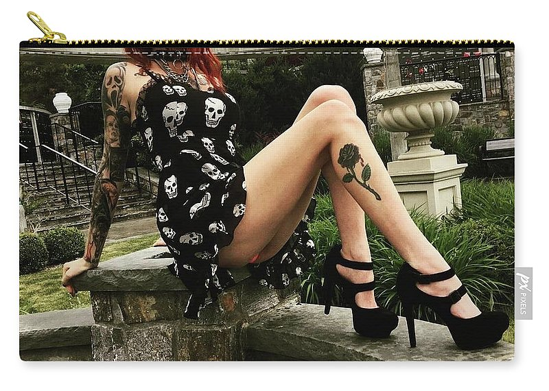 Feral 69 Carry-all Pouch featuring the photograph 1 - 120 by Feral Sixty Nine