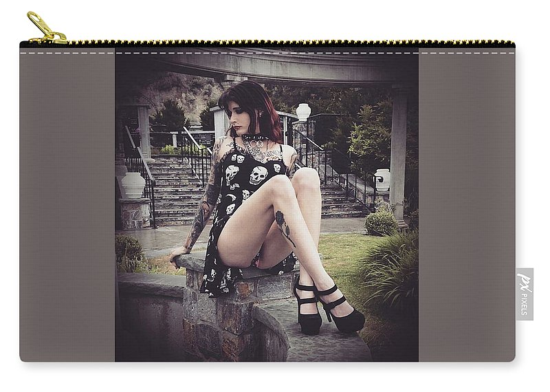 L 69 Carry-all Pouch featuring the photograph 1 - 128 by Feral Sixty Nine