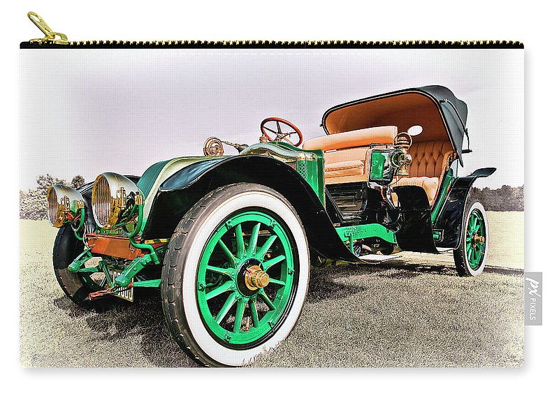 1914 Renault Type Ef Victoria Carry-all Pouch featuring the photograph 1914 Renault Type Ef Victoria by Marcia Colelli
