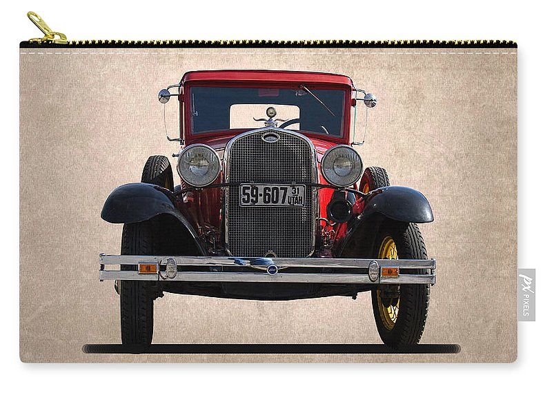 1931 Carry-all Pouch featuring the photograph 1931 Ford Model A by Nick Gray