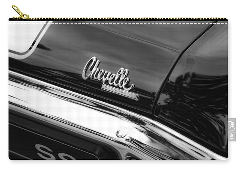 1970 Carry-all Pouch featuring the photograph 1970 Chevrolet Chevelle Ss 396 by Gordon Dean II