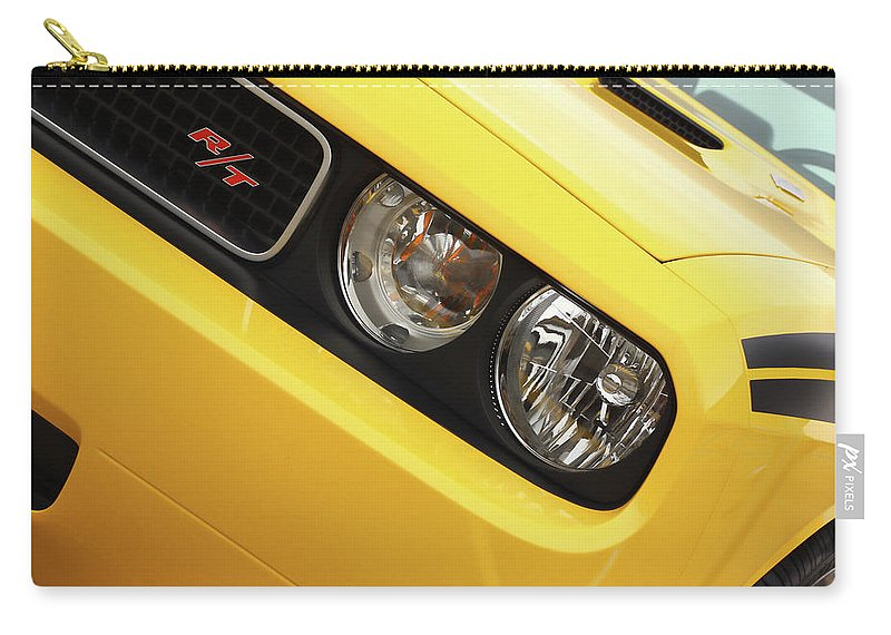 2011 Carry-all Pouch featuring the photograph 2011 Dodge Challenger Rt by Gordon Dean II