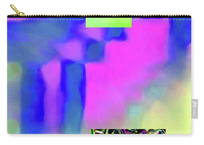 Walter Paul Bebirian Carry-all Pouch featuring the digital art 5-14-2015fabcdefghijklmnopqrtuvwxyzabc by Walter Paul Bebirian