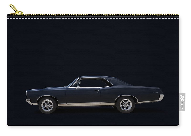 Transportation Carry-all Pouch featuring the digital art 67 Gto by Douglas Pittman