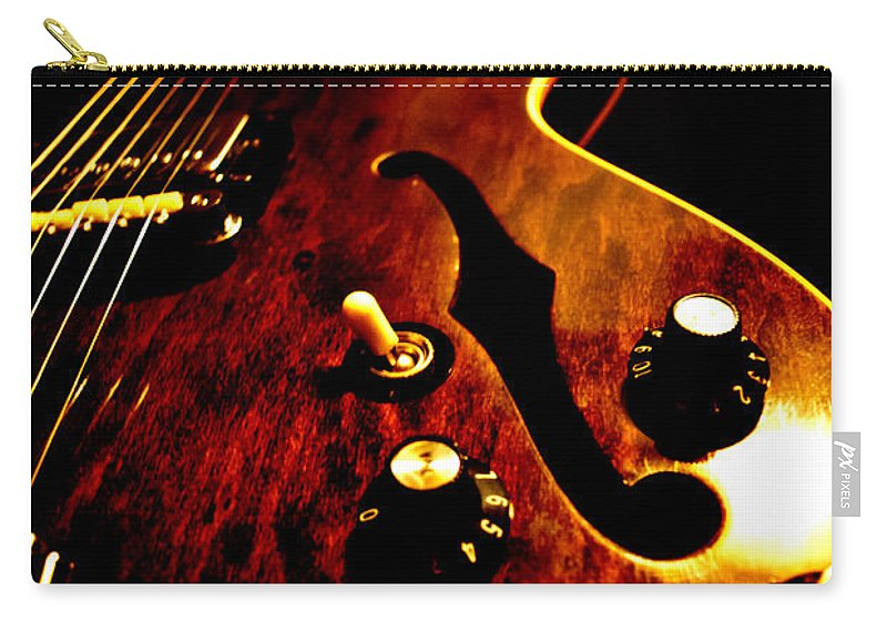 1968 Carry-all Pouch featuring the photograph '68 Gibson by Christopher Gaston