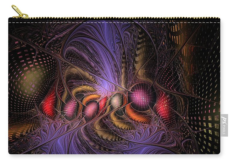 Graffiti Carry-all Pouch featuring the digital art A Student Of Time by NirvanaBlues