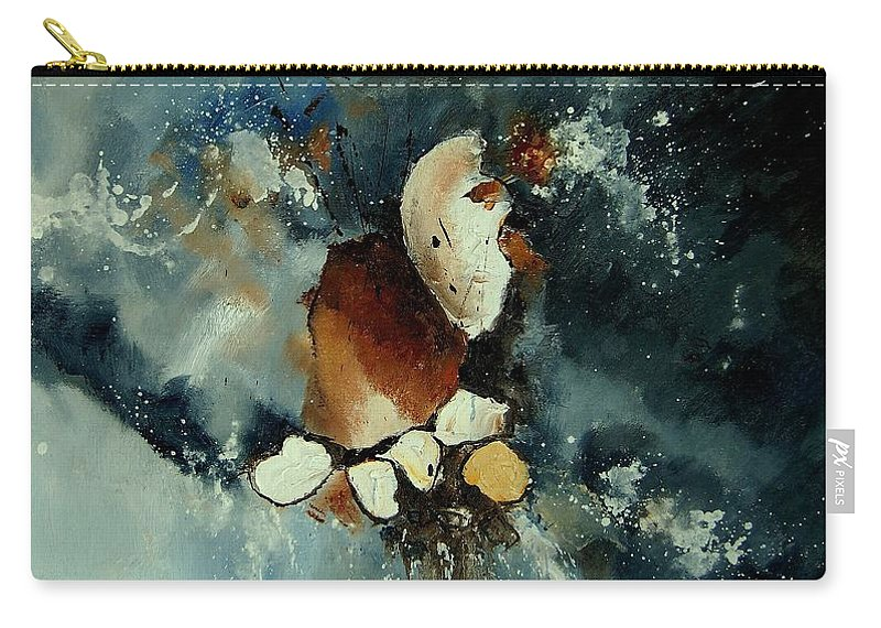 Abstract Carry-all Pouch featuring the painting Abstract 780707 by Pol Ledent