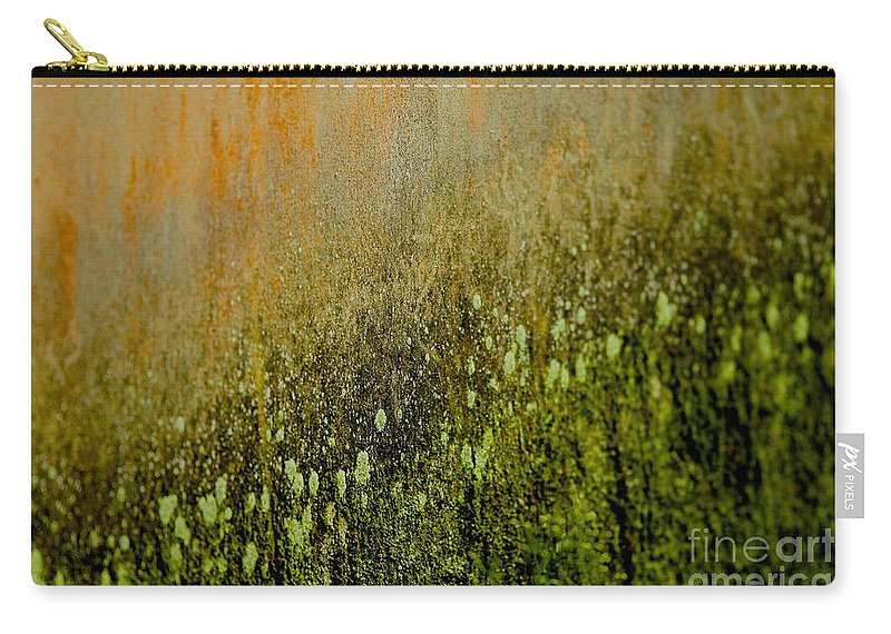 Fungus Carry-all Pouch featuring the photograph Abstract Spring by MingTa Li