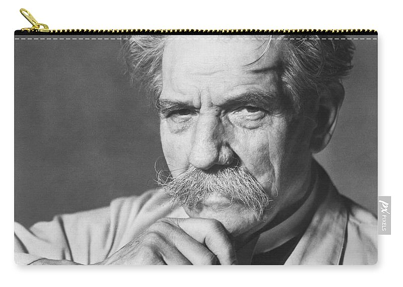 20th Century Carry-all Pouch featuring the photograph Albert Schweitzer by Granger
