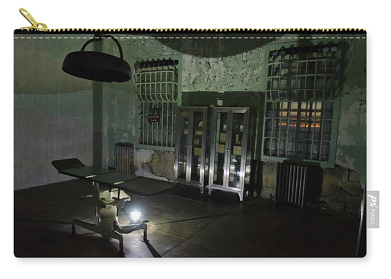 San Francisco Carry-all Pouch featuring the photograph Alcatraz Federal Penitentiary by Craig Fildes