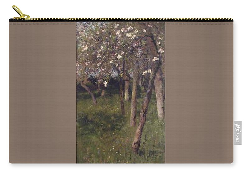 An Orchard Carry-all Pouch featuring the painting An Orchard by George Clausen
