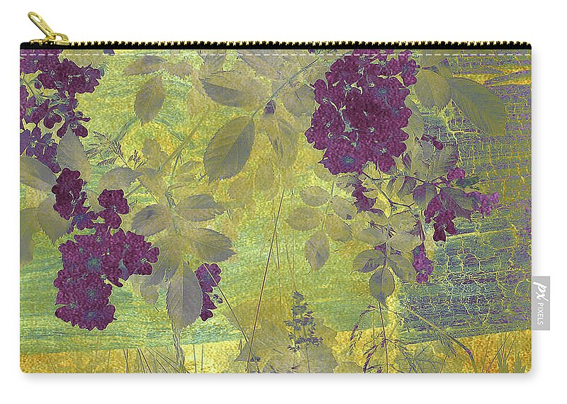 Nature Carry-all Pouch featuring the photograph Antiqued by Jessica Jenney