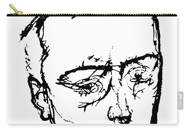 19th Century Carry-all Pouch featuring the photograph Anton Von Webern by Granger