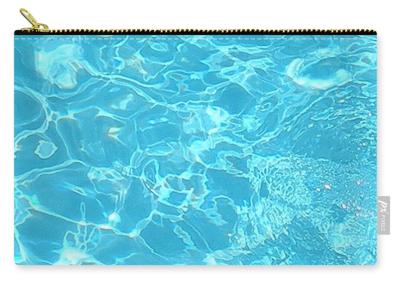 Water Carry-all Pouch featuring the photograph Aquatica by Maria Bonnier-Perez