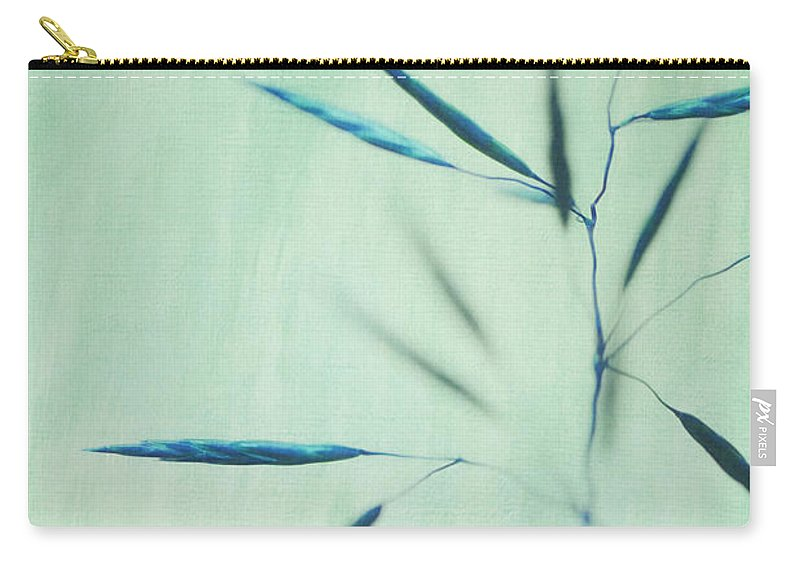 Grass Carry-all Pouch featuring the photograph Soft Whipsers by Priska Wettstein