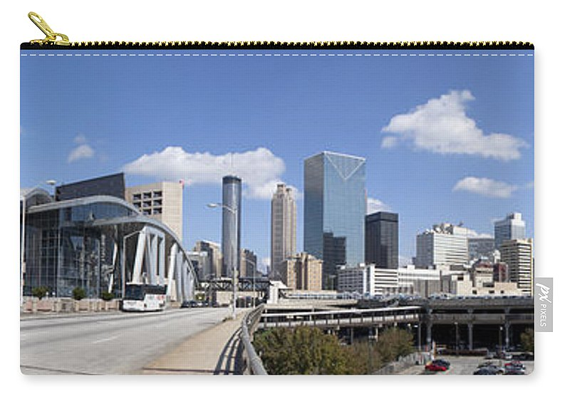 Panoramic Carry-all Pouch featuring the photograph Atlanta Georgia by Anthony Totah