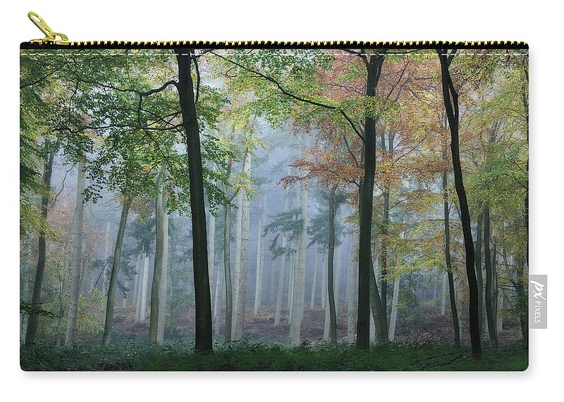 Autumn Carry-all Pouch featuring the photograph Autumn Frame by Ceri Jones