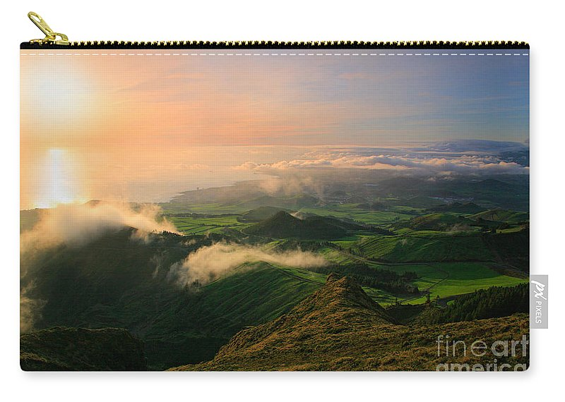 Coast Carry-all Pouch featuring the photograph Azores Islands Landscape by Gaspar Avila