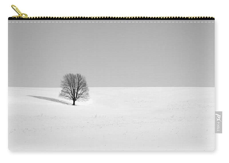 Snow Carry-all Pouch featuring the photograph Balance 1 by Todd Klassy