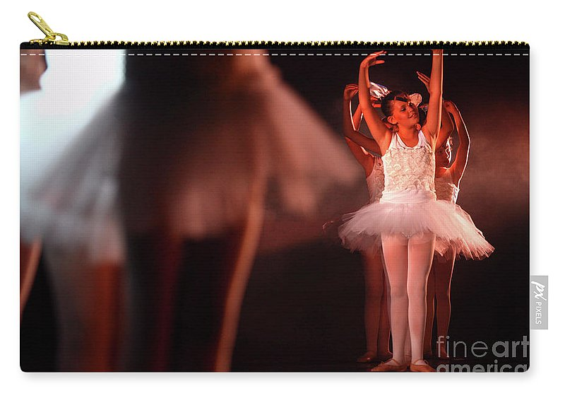 Ballet Carry-all Pouch featuring the photograph Ballet Performance by Chen Leopold