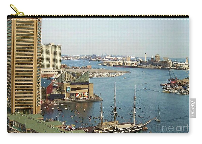 Baltimore Carry-all Pouch featuring the photograph Baltimore by Debbi Granruth