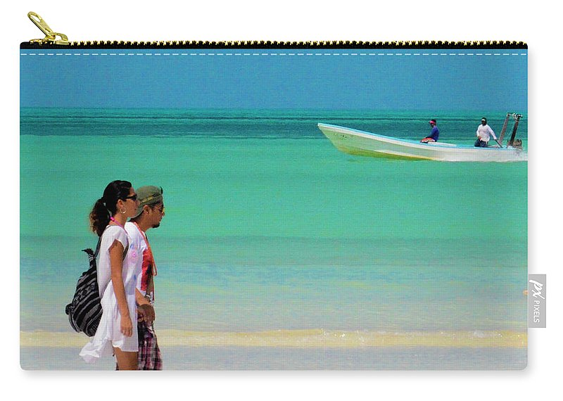 Beach Carry-all Pouch featuring the photograph Beach by James Burton