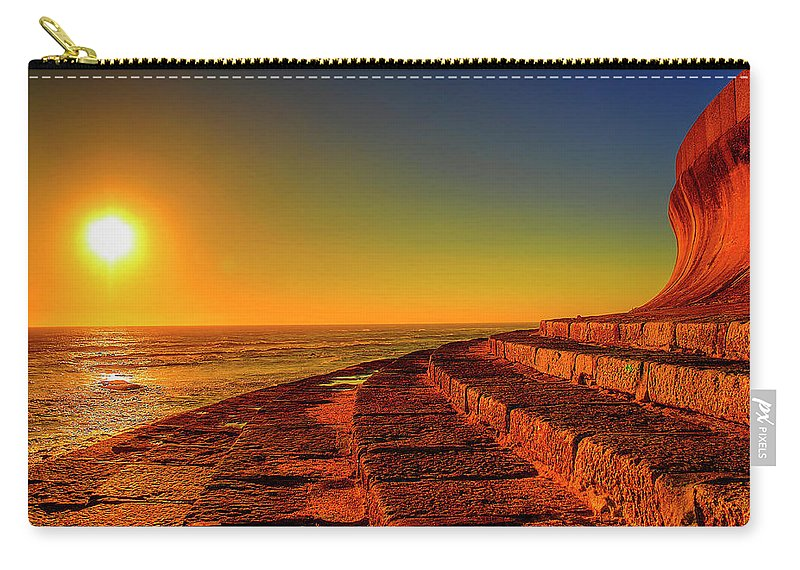 Carry-all Pouch featuring the photograph Beach by Soares Paulo