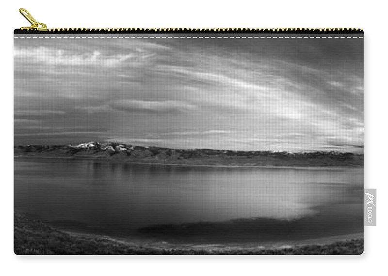 Bear Lake Carry-all Pouch featuring the photograph Bear Lake Panoramic by Leland D Howard