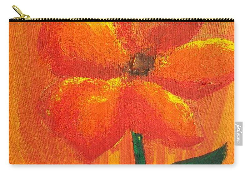 Carry-all Pouch featuring the painting Bih Close by Laurette Escobar