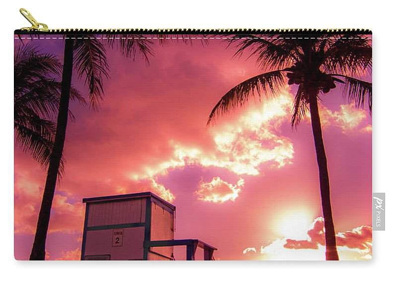 Sunrise Carry-all Pouch featuring the photograph Bittersweet Symphony by Katelyn Racanelli