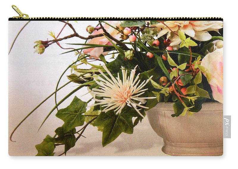 Flowers Carry-all Pouch featuring the photograph Bloom by Lord Frederick Lyle Morris - Disabled Veteran