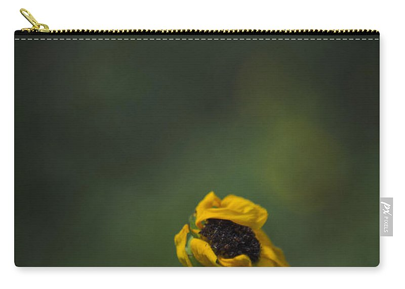 Flower Carry-all Pouch featuring the photograph Blowing by Margie Hurwich