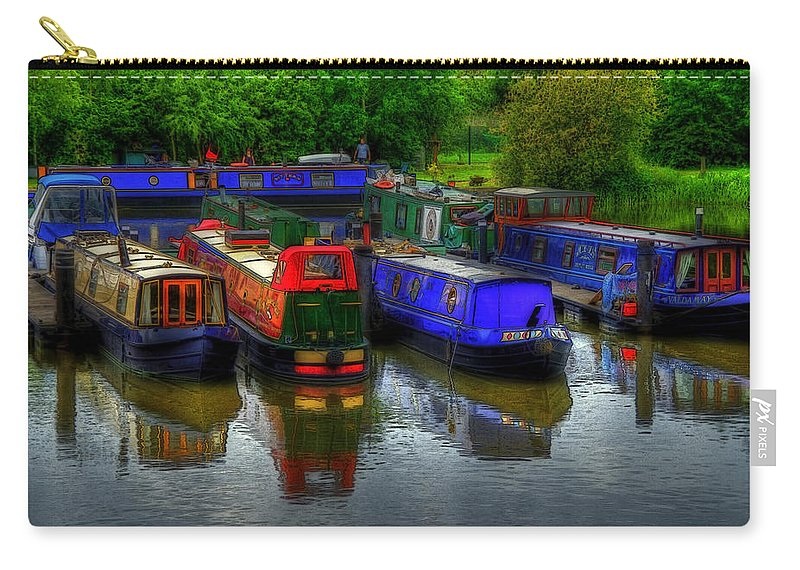 Boat Carry-all Pouch featuring the photograph Boat Life by Svetlana Sewell