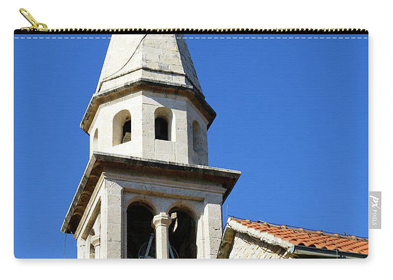 Travel Carry-all Pouch featuring the photograph Budva, Montenegro by Ruth Hofshi