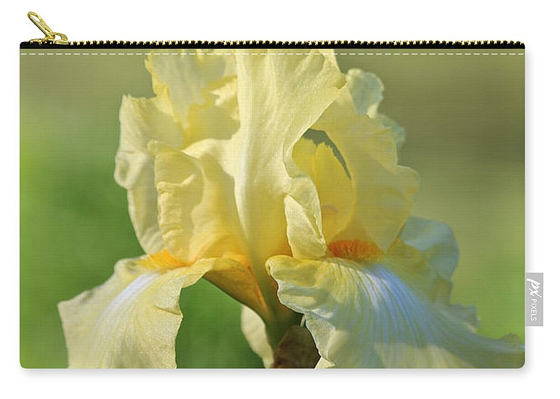 Flower Carry-all Pouch featuring the photograph Buttery Soft by Susan Herber