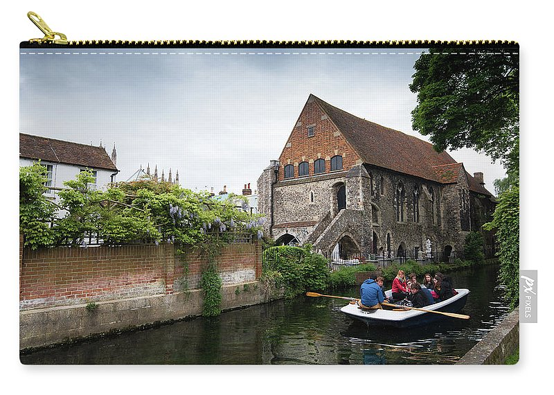 Canterbury Carry-all Pouch featuring the photograph Canterbury City, Kent Uk by Michalakis Ppalis
