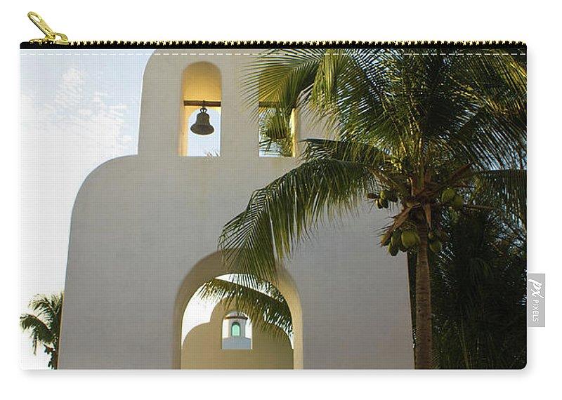 Capilla Carry-all Pouch featuring the photograph Capilla De Nuestra Senora Del Carmen 2 by Douglas Barnett