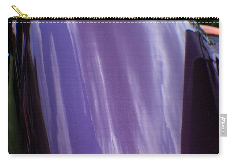 Cars Carry-all Pouch featuring the photograph Car Reflection 12 by Karl Rose