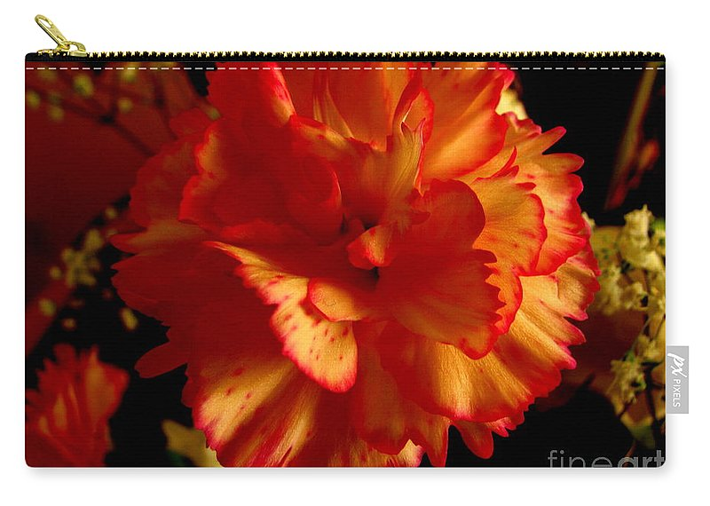 Patzer Carry-all Pouch featuring the photograph Carnation by Greg Patzer