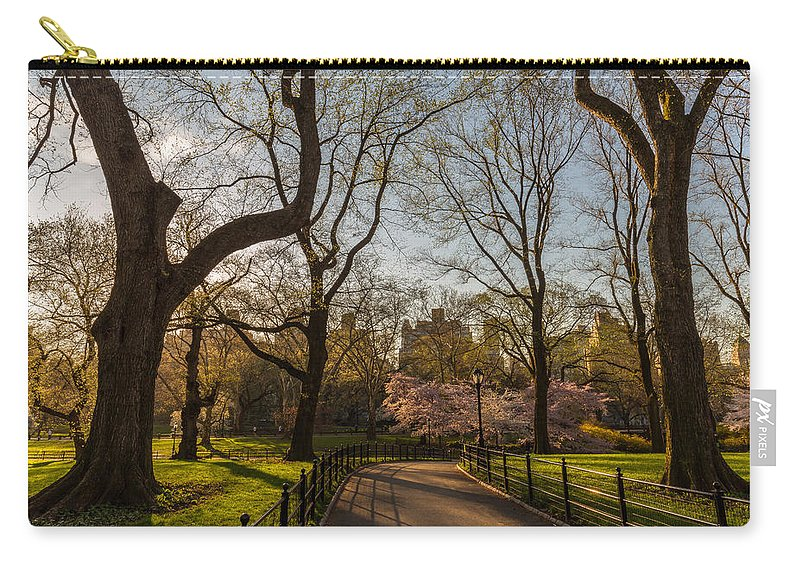 Nyc Carry-all Pouch featuring the photograph Central Park Nyc by Stefan Mazzola