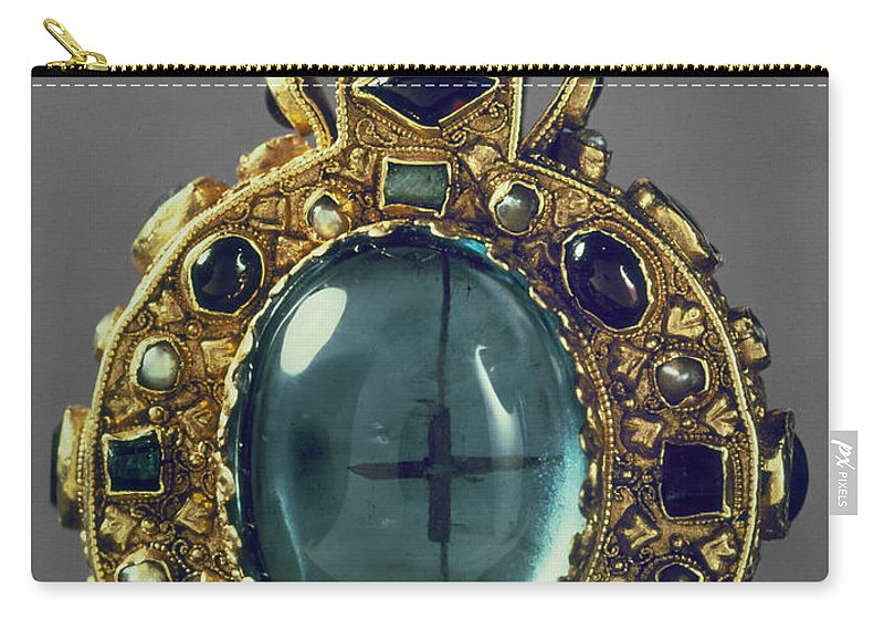 8th Century Carry-all Pouch featuring the photograph Charlemagne (742-814) by Granger