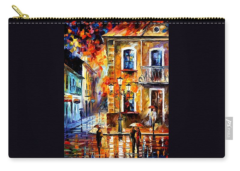 Afremov Carry-all Pouch featuring the painting Charming Night by Leonid Afremov