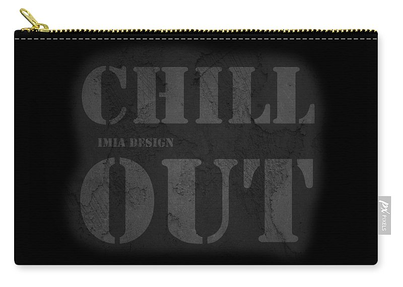 Chilloutzone Carry-all Pouch featuring the digital art Chilloutzone by Maria Astedt