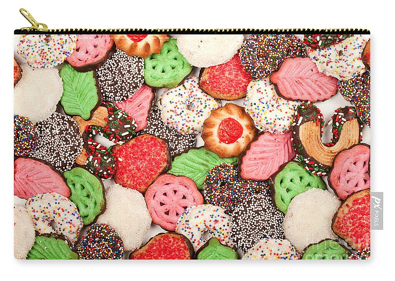 Cookies Carry-all Pouch featuring the photograph Christmas Cookies by Anthony Totah