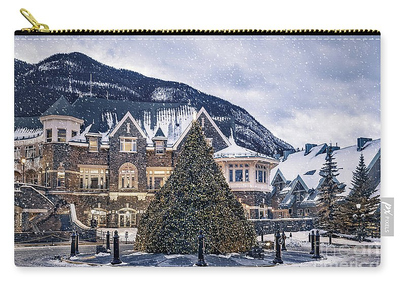 Kremsdorf Carry-all Pouch featuring the photograph Christmas Dreams by Evelina Kremsdorf