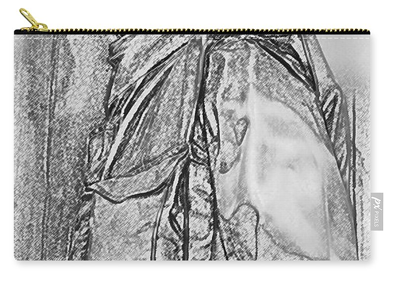 Usaf Carry-all Pouch featuring the digital art Combat Airman by Tommy Anderson